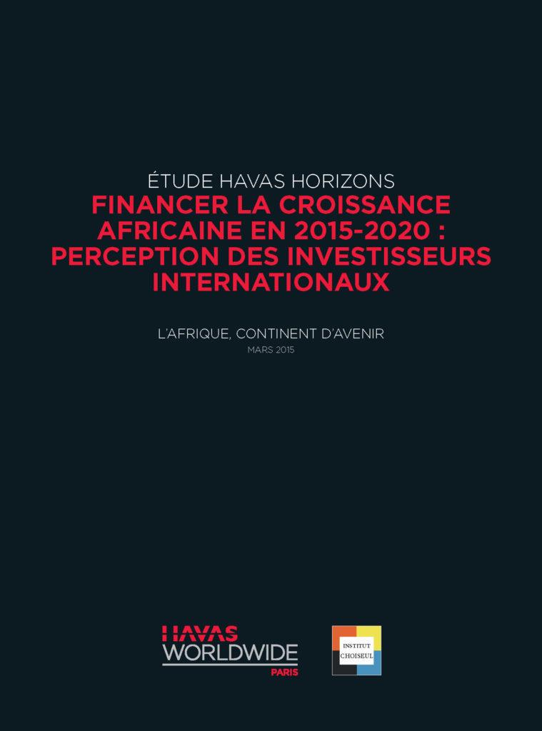 Financer la croissance africaine en 2015 – 2020