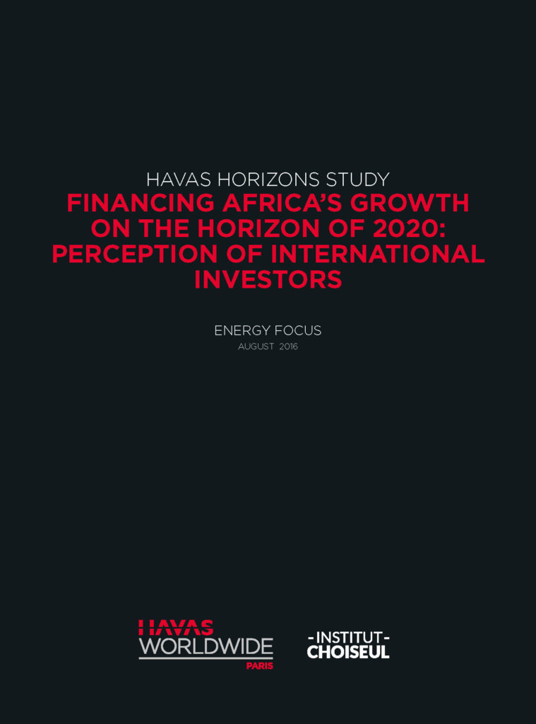 Financing Africa's growth on the horizon of 2020