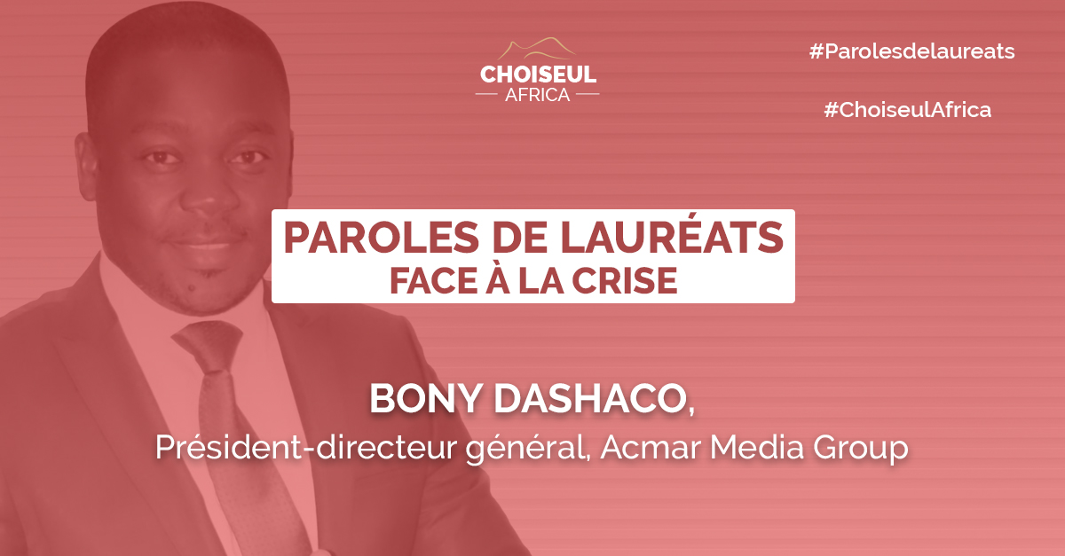 Paroles de Lauréats : Bony Dashaco